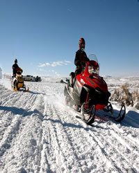 Snowmobiling in Craig and Moffat County, Colorado