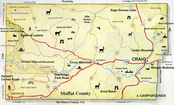 Craig Colorado Map Craig Base Template Craig Colorado Map